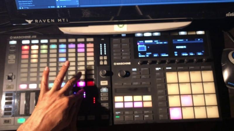 Live Dub Instrumental Mix on Maschine Jam MK3 | Rubber Dub Style | Brexit Dub