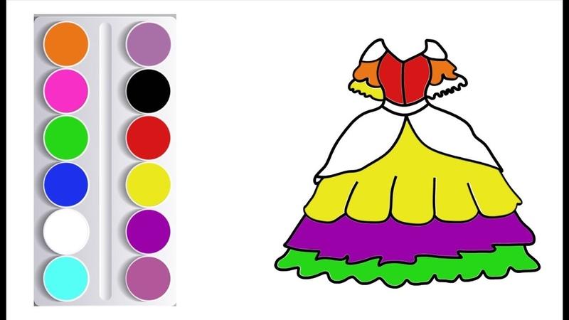 Disegna abiti per bambini come colorare l'abito disegni da colorare per bambini come disegnare