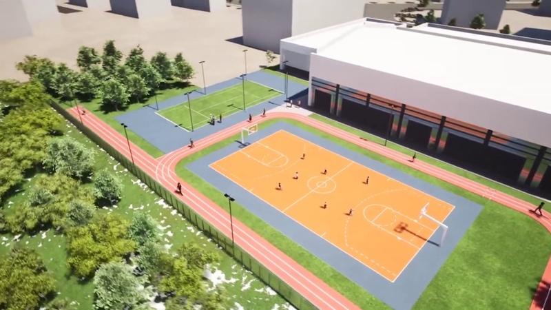 Գյումրիում կկառուցվի ահա այսպիսի հոյակերտ մարզադպրոց՝ Արթուր Ալեքսանյանի պատվին Նիկոլ Փաշինյան