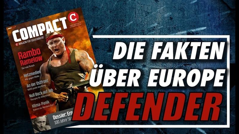 Defender Europe 2020 Ramstein Ernst Jünger COMPACT 3 20