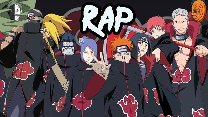 AKATSUKI RAP CYPHER | RUSTAGE ft None Like Joshua, GameboyJones, Eddie Rath More [Naruto Rap]