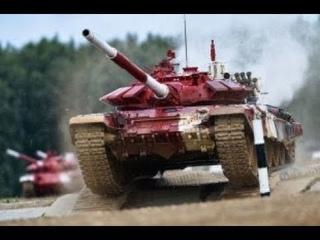 Сериал Танковый биатлон. 1 Сезон. 2 Серия.  Прикладные состязания между танковыми экипажами.