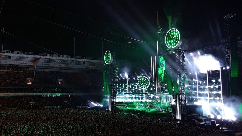 Rammstein - Du Riechst So Gut - Live Ullevaal Stadion, Oslo, Norway 18.08.2019
