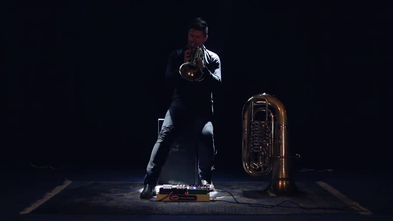 Daniel Herskedal - 'The Mistral Noir' (tuba bass trumpet) • 2014