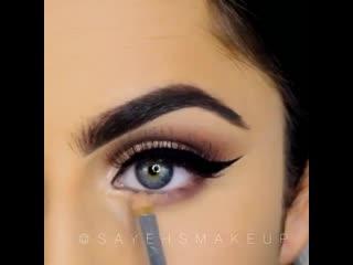 Невероятно красивый макияж глаз