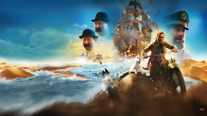 Приключения Тинтина Тайна Единорога The Adventures of Tintin 2011 Года