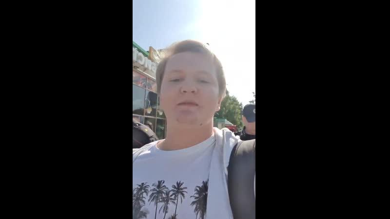 Беляева Сергея, редактора проекта ЯГражданин, задержали на выходе из дома сотрудники полиции.