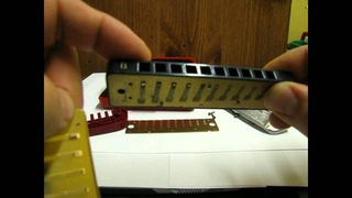 Harmonica Repair Basics: Which way do the reed plates go?