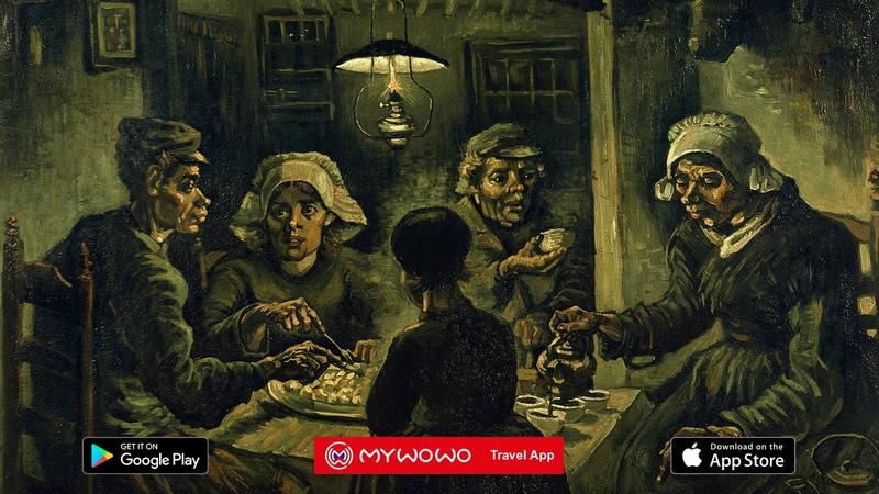 Музей Ван Гога Едоки Картофеля Амстердам Аудиогид MyWoWo Travel App