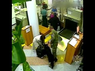 В Хабаровском крае остановили женщину, которая везла в Китай ртуть под одеждой