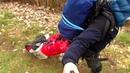 How to make/DIY: Monowalker, hiking trailer, Pilgerwagen m. Ortlieb Tasche