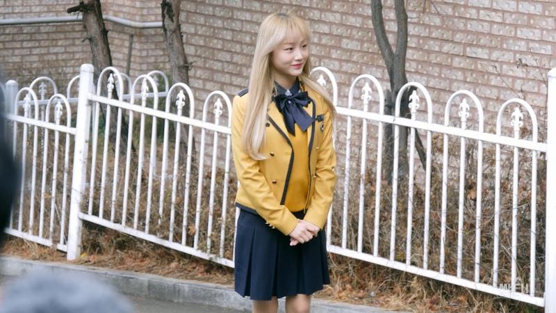 4K 20200213 소녀주의보 GSA 구슬 서울공연예술고등학교 졸업식 포토타임 및 졸업 소 44