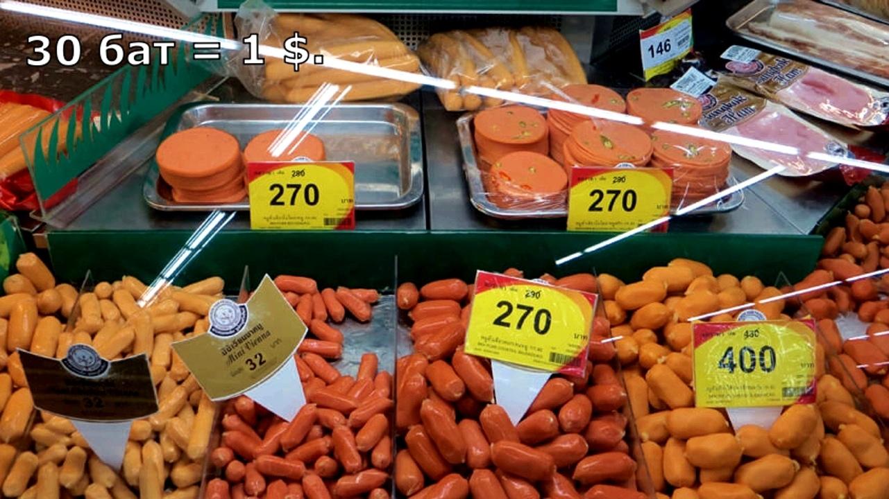 Цены на продукты и еду в Таиланде.  ZymogI0VgRg