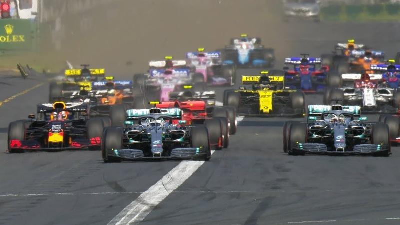 2019 Australian Grand Prix Bottas Flies, Ricciardo Collides On Opening Lap