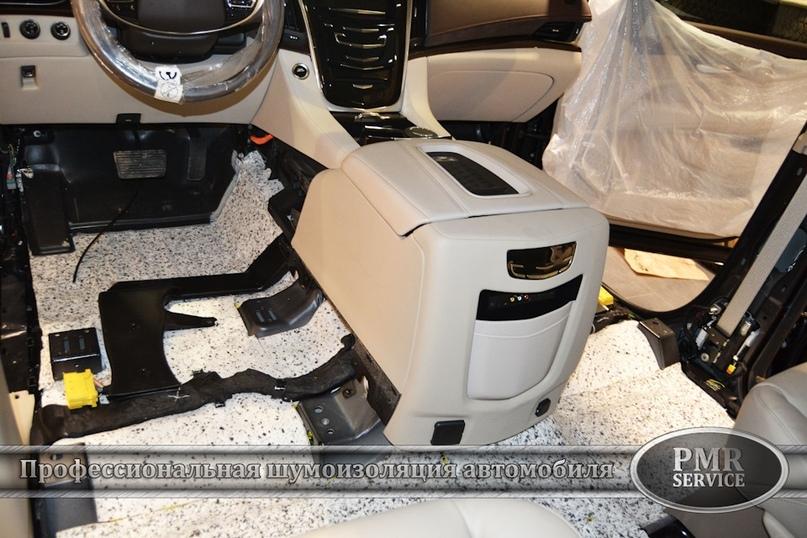 Шумоизоляция Cadillac Escalade ESV, изображение №6