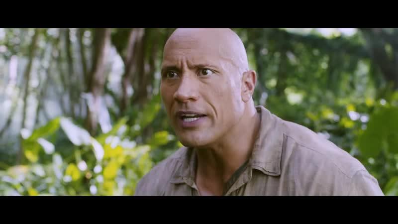Джуманджи Зов джунглей - Русский трейлер (дублированный) 1080p