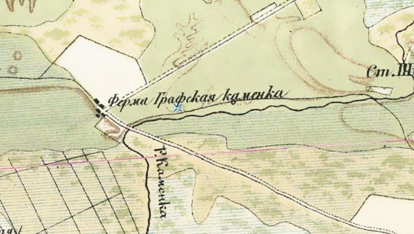 Карта юго-восточной части Финляндии и С.Петербургской губернии 1863 г.