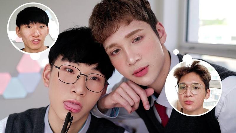 Simple Makeup For School Uni Work~ an excuse to wear Korean high school uniforms Edward Avila