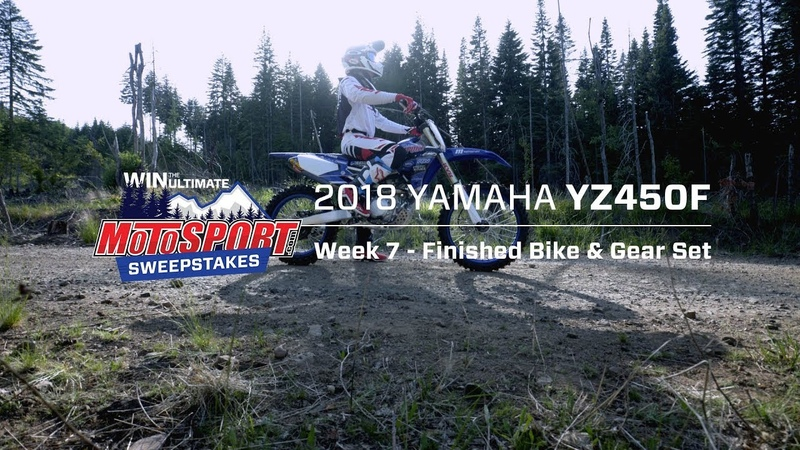 The Ultimate MotoSport.com Sweepstakes | Finished YZ450F Gear Week 7