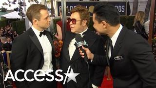 Elton John Chose To Cast Taron Egerton In 'Rocketman' After Role In 'Kingsman: The Golden Circle'