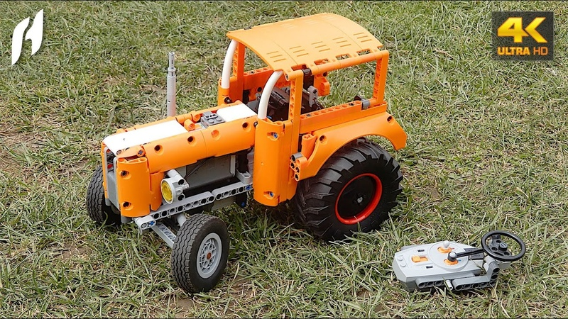 Lego Technic Tractor First Ride MOC 4K