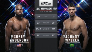 Кори Андерсон vs Джонни Уолкер: Вспоминаем бой