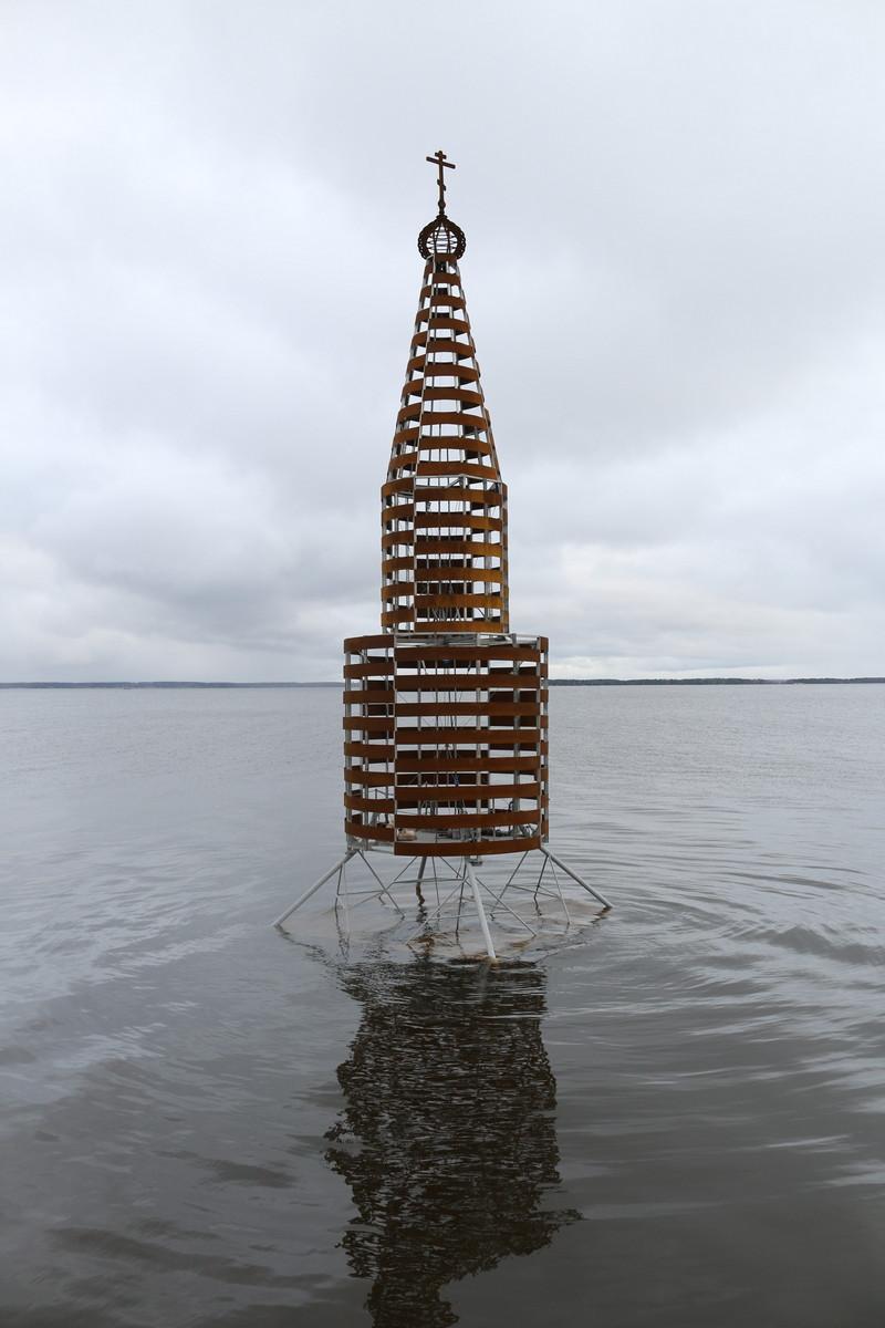 Установлена Часовня в память обо всех затонувших церквях
