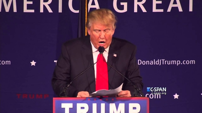 Donald Trump on Muslims (C-SPAN)