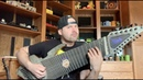 Man attempts to play Walk by Pantera on an 18 string guitar
