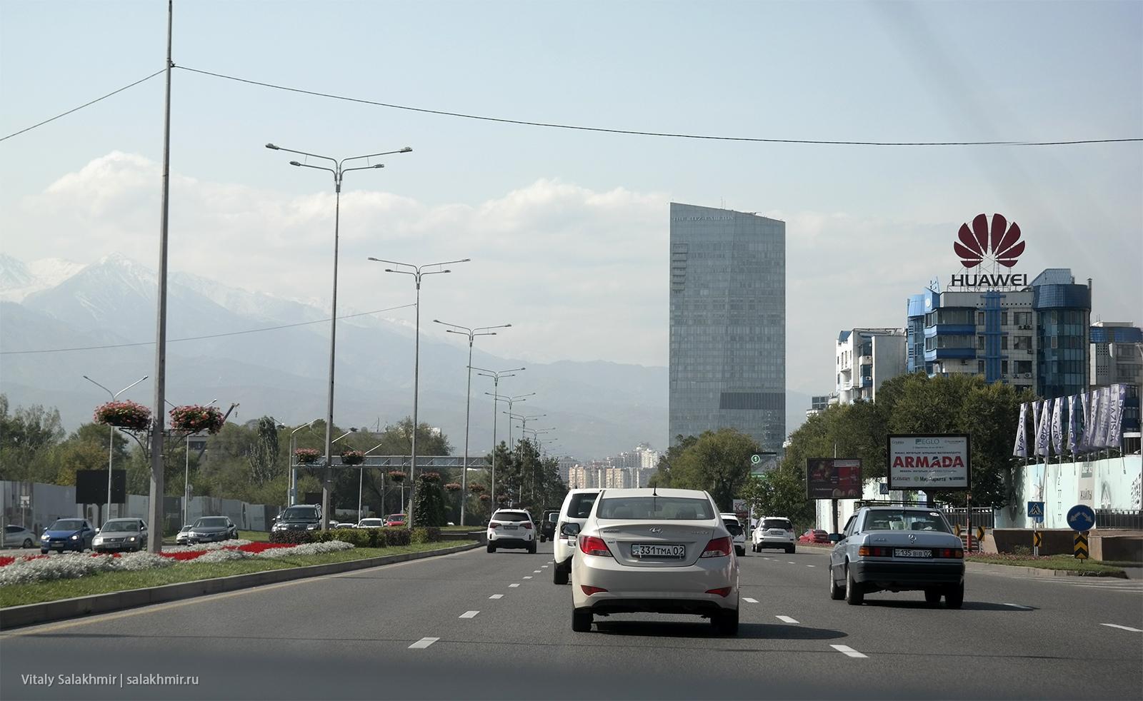 Проспект Аль-Фараби, фото 2019