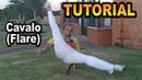 Tutorial Capoeira (Cavalo / Flair / Flare / Corta capim duplo) Learn to FLARE (English subtitles)