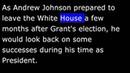 American History - Part 117 - A Johnson - Buys Alaska - Grant Elected President