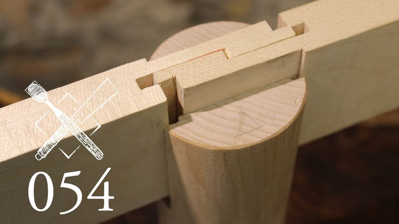 Joint Venture Ep.54:Dadoed rabbeted square scarf Shingiri daimochi tsugi(Japanese Joinery)