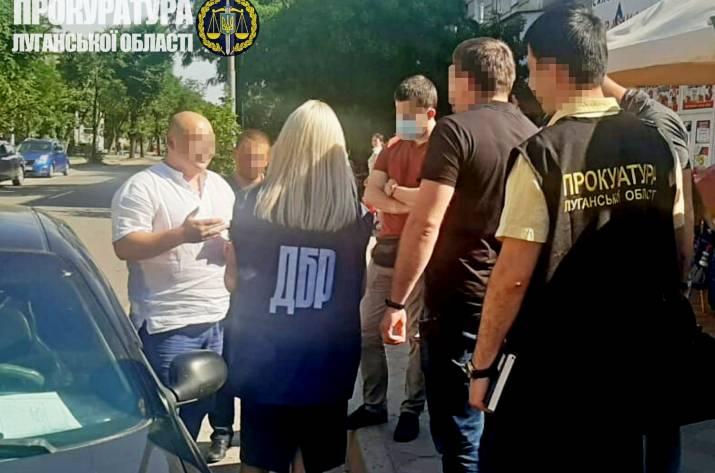 В Луганской области налоговика словили на взятке