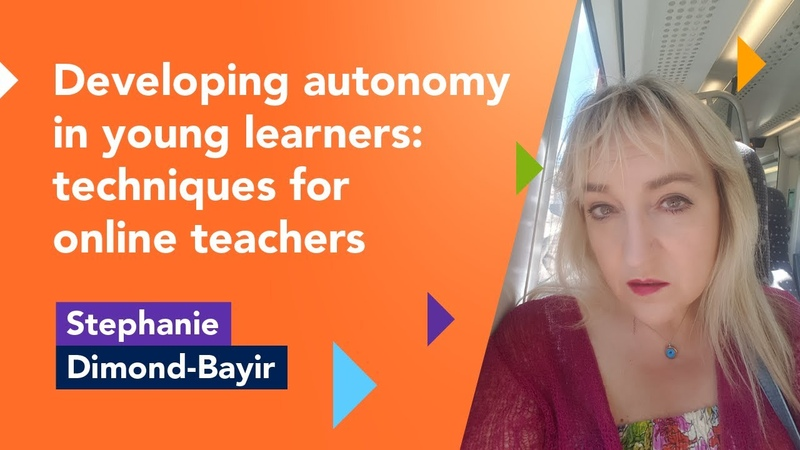 Developing autonomy in young learners Stephanie Dimond Bayir