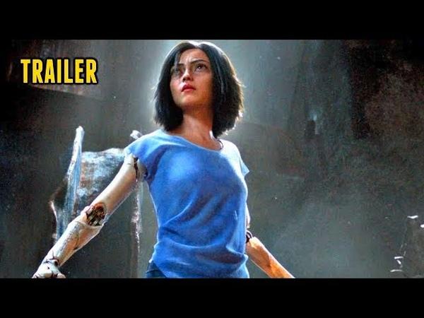 🎥 ALITA: BATTLE ANGEL (2018)   Full Movie Trailer in HD   720p