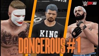 WWE 2K16 ЮНИВЕРС | DANGEROUS #1 | KRASAVAS FEDERATION