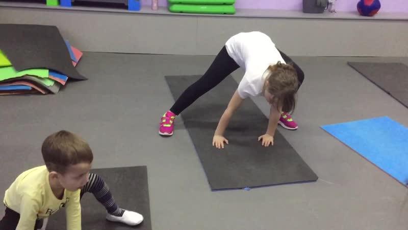 Танцевальный фитнес для детей 5