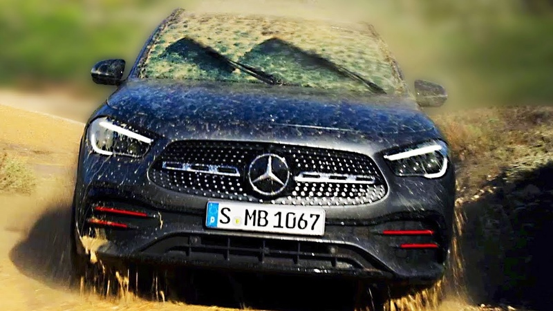 2021 Mercedes Benz GLA Design Interior Driving