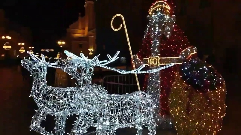 Toruński Jarmark Bożonarodzeniowy 2019/Рождественская ярмарка в Торуни Польша/Christmas Fair Poland
