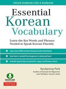 Essential Korean Vocabulary - Kyubyong Park