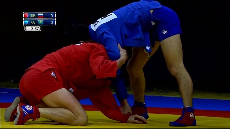 52 кг – Игорь БЕГЛЕРОВ (🇷🇺) и Болатбек РАЙМКУЛОВ (KAZ)ЧМпоСАМБО2019