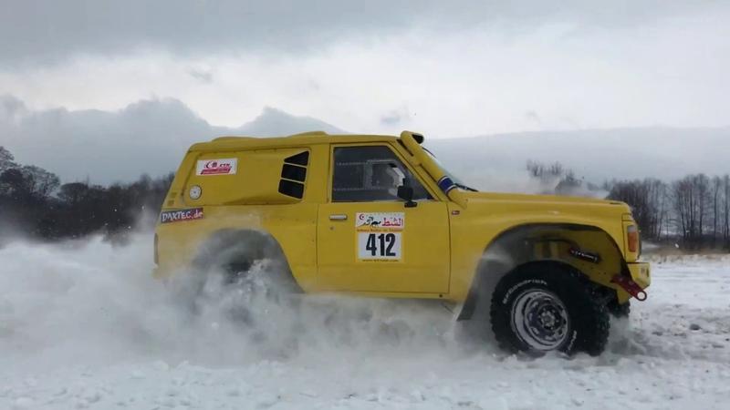 Nissan Patrol Y60 3,0sd biturbo BMW, rally car by Extrem4x4