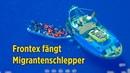 Frontex fängt Migrantenschlepper 81 Migranten vor Lampedusa abgesetzt 7 Festnahmen