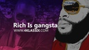 Rich Is Gangsta Rick Ross / MMG / JUSTICE League type beat w Live Instruments