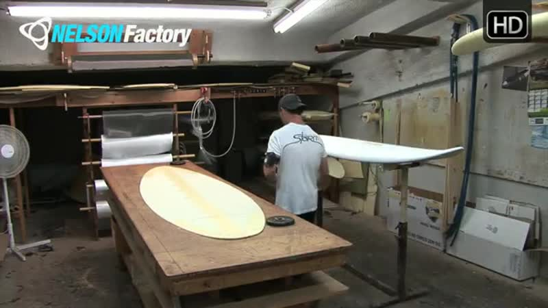 Nelson Factory Windsurfing Custom Boards No. 4 Part 1