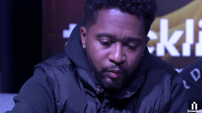 Zaytoven making a beat live on stage (Tracklib iStandard's Cookup in Atlanta)