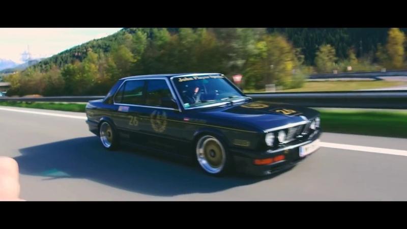BMW E28 M535i   Carporn   Carfilm   dumped   BBS   John Player Special   HR