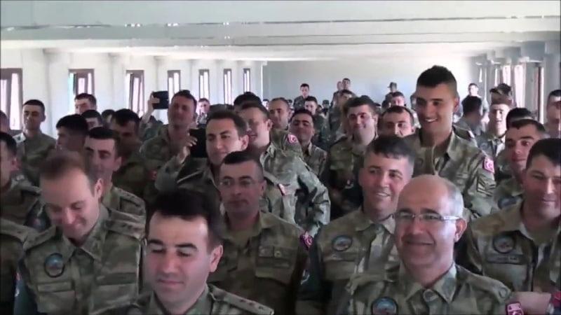 Türk askeri Karabağ hakkinda möhteşem şeir söyledi Ya Qarabağ Ya ölüm