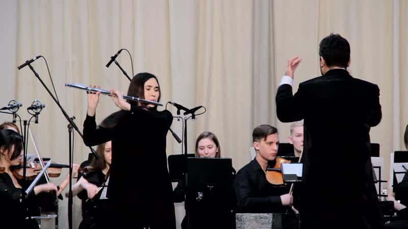 Моцарт В А Концерт для флейты с оркестром Ре мажор I часть